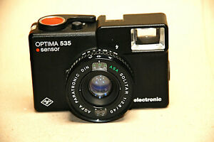 Agfa Optima 535 sensor electronic voll funktionstüchtig ..Made in Germany