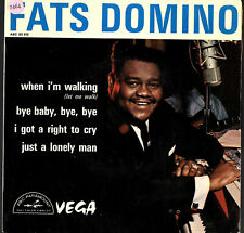 "FATS DOMINO   EP  ABC-PARAMOUNT   "" WHEN I'M WALKING ""   [France]"