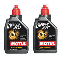 Motul Olio Trasmissione Gear 300 75W90 Auto Moto API GL-4 / GL-5 - 2 Litri