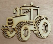 Tractor - unfinished wood cutouts