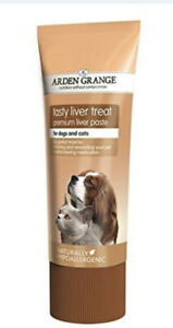 Arden Grange Paste Liver Pate Treat Dogs Giving Tablets  Kong Stuffing 6 X 75g