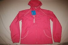 Columbia Rain Jacket Mesh Lined Girls XL 18-20 Pink NEW NWT