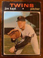1971 Topps #245 Jim Kaat Minnesota Twins