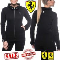 ✅ 24Hr DELIVERY✅Puma Ferrari  Ladies  Casual Sports Zip Jacket Sweat top RRP £90