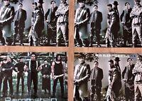 4 RAMMSTEIN - Poster !!! Fan collection Sammlung lot A3 Till Lindemann u.a. Rock