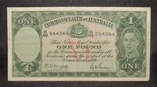 Australia 1942 1 Pound Note VF