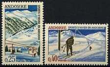 Andorra French 1966 SG#F195-6 Winter Sports MNH Set #D71794