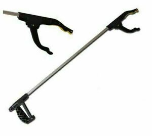 Long Hand Held Plastic Pick Up Tool Mobility Reach Rubbish Litter Picker Grabber