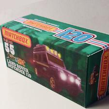 CUSTOM BOX ONLY   for LAND ROVER DEFENDER 110    Matchbox Superfast
