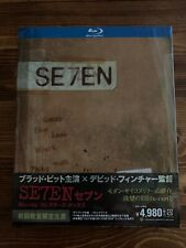 Se7en Blu-ray Japan Exclusive Digibook Fullslip Booklet Seven 7 Includes Comic