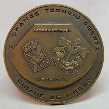"TABLE TENNIS Lisbon 1979 X Open Tournament ""Cidade de Lisboa"" Bronze Medal"