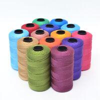 Sewing Thread DIY Artisan String Rope Craft Twisted Macrame Cord Wedding Supply