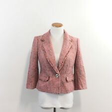 The Limited Collection Wool Blend Jacket 3/4 Sleeve Fully Lined Women's S Small