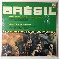 RARE Bresil Orfeu Negro Voyages Aurour Du Monde LP Vinyl World Music Clowns