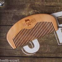 Mo Bro's - Wooden Grooming Beard/Moustache Comb