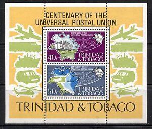 TRINIDAD & TOBAGO 1974, UPU CENTENARY Scott 244a MNH
