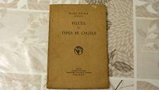 ECOLE NAVALE / RECUEIL DE TYPES DE CALCULS / QUÉDEC ET BOELLE  / 1929