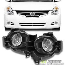 Fits 2010-2012 Altima Sedan Halo Projector Fog Lights lamps w/Switch 10 11 12
