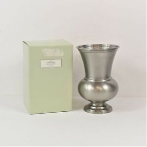 Restoration Hardware Pewter Vendome Urn Vase Made in India Preowned