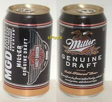 HARLEY-DAVIDSON BIKES 1998 95th ANNIVERSARY BEER CAN MILLER MILWAUKEE,WISCONSIN