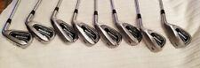 PINHAWK SINGLE LENGTH Iron Set, 5-PW, AW, LW, Steel Shaft, Stiff, RH