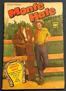 Monte Hale Western #29 Oct 1948 Fawcett Photo Cover 1st Issue
