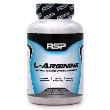 RSP Nutrition L-Arginine (100ct) Nitric Oxide Precursor for Recovery