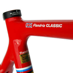 4x Personalised bike frame Name Stickers Decals + Flag. THE ORIGINAL AND BEST !