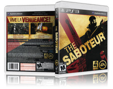 The Saboteur - Replacement PS3 Cover and Case. NO GAME!!