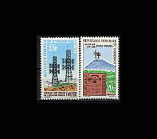 Cameroon, Sc #384-85, MNH, 1963, Communications, 12FDIcx