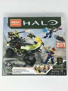 Mega Construx Warthog Rally Vehicle Halo Infinite Construction Set - 314 Pieces