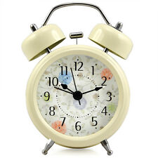 RETRO STYLE DOUBLE BELL WIND ALARM CLOCK TRADITIONAL BEDSIDE LOUD WITH LIGHT L3
