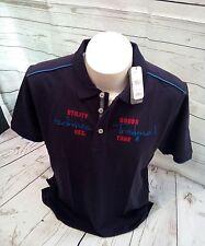 Ragman Poloshirt  Polohemd Knopfleiste Kurzarm Gr.M 50  Blau  100% Baumwolle