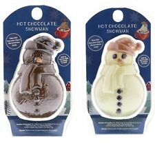 2 Hot Chocolate Bomb Snowman With Marshmellows & Chocolate Chips Christmas