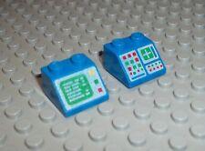 LEGO 2 ordinateur 3039 pc Moniteur bleu classic space slope oblique pierre ll918 pc3