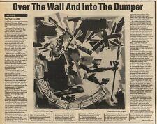 19/3/83PN29 ALBUM REVIEW: PINK FLOYD: THE FINAL CUT