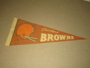 1970-80'S  FOOTBALL PENNANT APPROX 4 X 9 INCHES CLEVELAND BROWNS