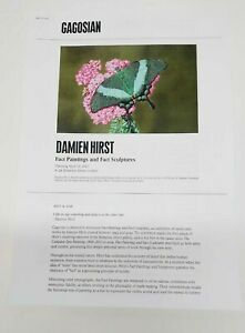 Damien Hirst Show Gallery Guide From London coke can Gagosian 2021