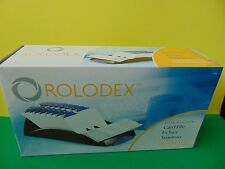 "New Genuine Rolodex 67032 Black Card File with 500 3 x 5"" Cards & Index tabs"