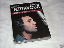 27918//CHARLES AZNAVOUR LIVRE COLLECTOR + CD 12 TITRES BEST OF NEUF