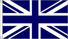 5' x 3' Navy Blue and White Union Jack Flag British Sport Team Club Banner