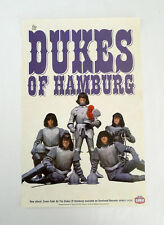 Dukes of Hamburg Promo Poster Mummies Gearhead Records 60s Garage Punk SF 2001