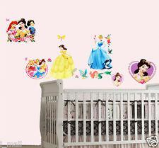 GORGEOUS DISNEY PRINCESS & MERMAID ARIEL Kids Wall sticker for Kids room/Nursery
