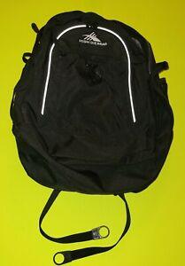 New High Sierra 39L Fatboy Tech Water Repellent Backpack Black NWT Bookbag