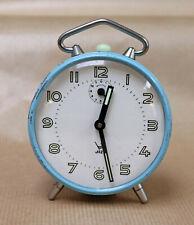 Réveil mécanique Vintage - JAZ - 10 cm - Fonctionne / Working