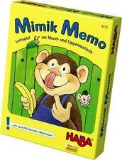 NEU! HABA Mimik - Memo Lernspiel Mund- und Lippenmotorik Spiel ab 3 Jahre