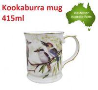 KOOKABURRA Gold Edged Fine China 415ml Coffee Mug Cup Christmas Xmas Gift Home