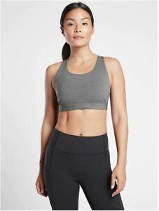 Athleta NWT Women's Ultimate Bra D-DD Size Med Color Grey Heather