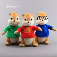 13'' Big Cartoon Chipmunks Plush Toy Stuffed Animal Doll Teddy Kids Xmas Gift