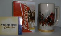 2012 Budweiser Holiday Stein - Christmas Ceramic Beer Mug   from Annual Series